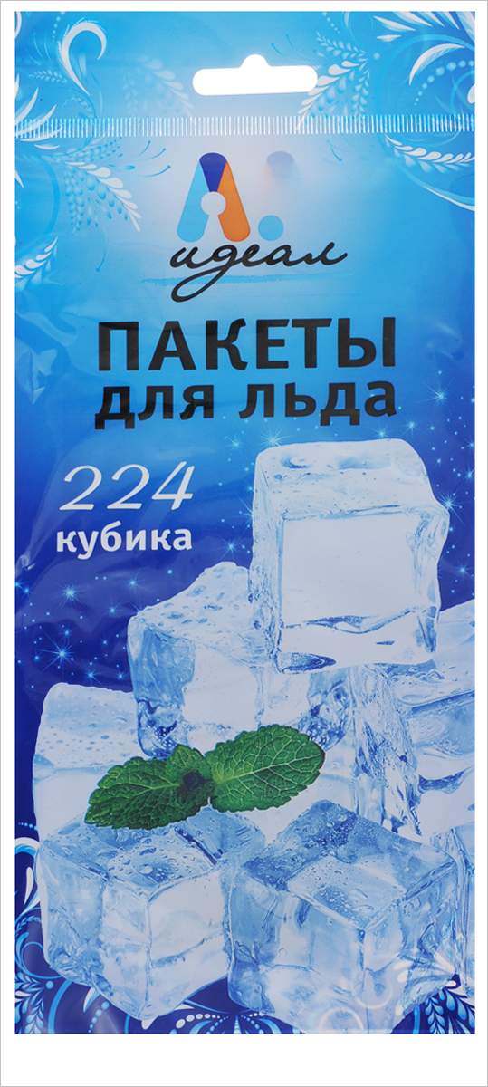 Пакеты для льда Идеал, на 224 кубикаТДД25444Пакеты Идеал, выполненные из пищевого полиэтилена, предназначены для замораживания кубиков льда для различных напитков. Пакеты не пропускают запахи из холодильника и легки в использовании.Количество ячеек для льда: 224 шт.