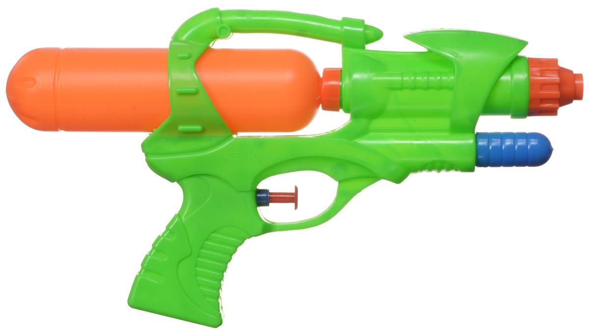 Bebelot Водный пистолет Бластер цвет зеленый оранжевый бластер bebelot водомет beb1106 022