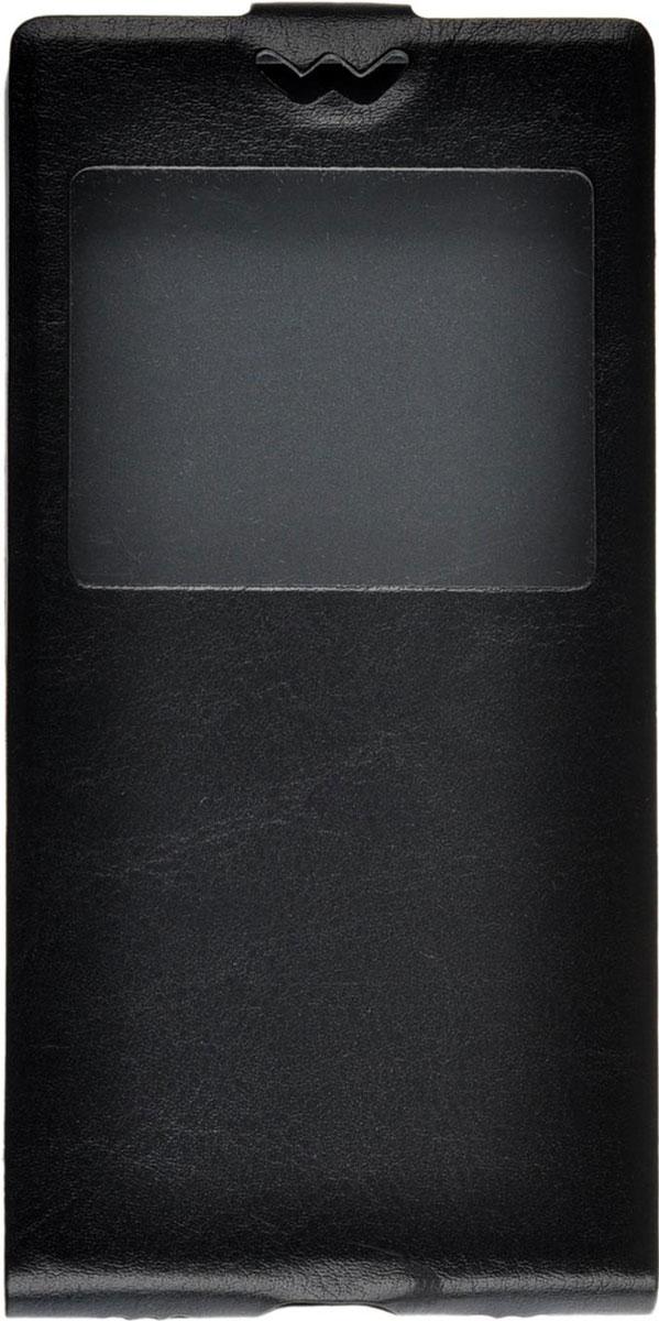Skinbox Flip slim AW чехол для Huawei P8, Black чехлы для телефонов skinbox philips w6610 lux aw