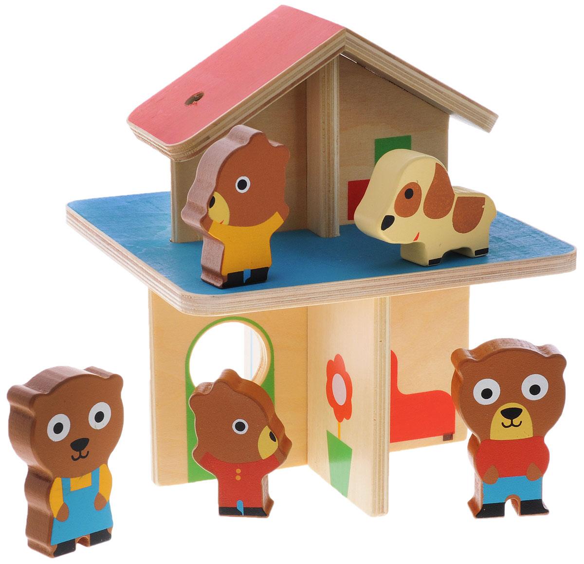 Djeco Развивающая игрушка Мини-дом развивающая игрушка набор для творчества танк