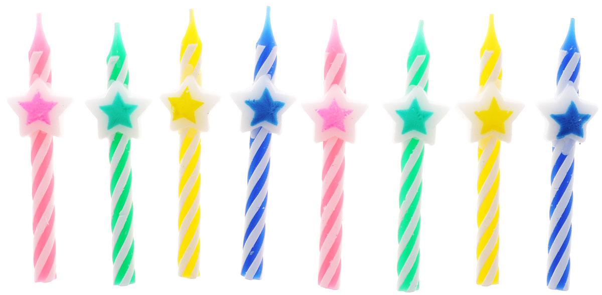 Action! Свечи для торта Звездочка 8 шт