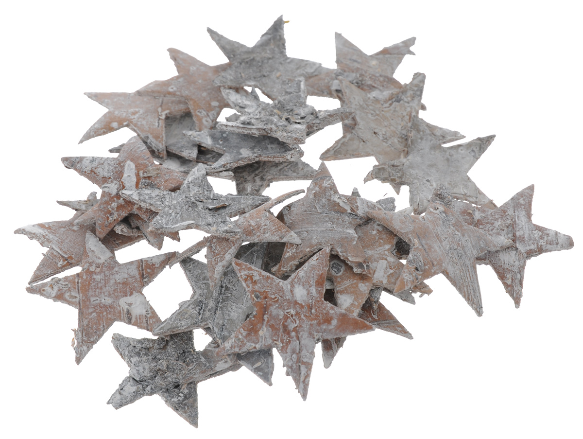 Декоративный элемент Dongjiang Art Звезда, цвет: белый, 30 шт7709006_белыйДекоративные элементы Dongjiang Art Звезда, изготовленные из натуральной коры дерева, предназначены дляукрашения цветочных композиций. Изделия можно также использовать вскрапбукинге и многом другом.Флористика - вид декоративно-прикладного искусства, который использует живые, засушенные иликонсервированные природные материалы для создания флористических работ. Это целый мир, в котором естьместо и строгому математическому расчету, и вдохновению.Размер одного элемента: 3,5 см х 3,5 см.