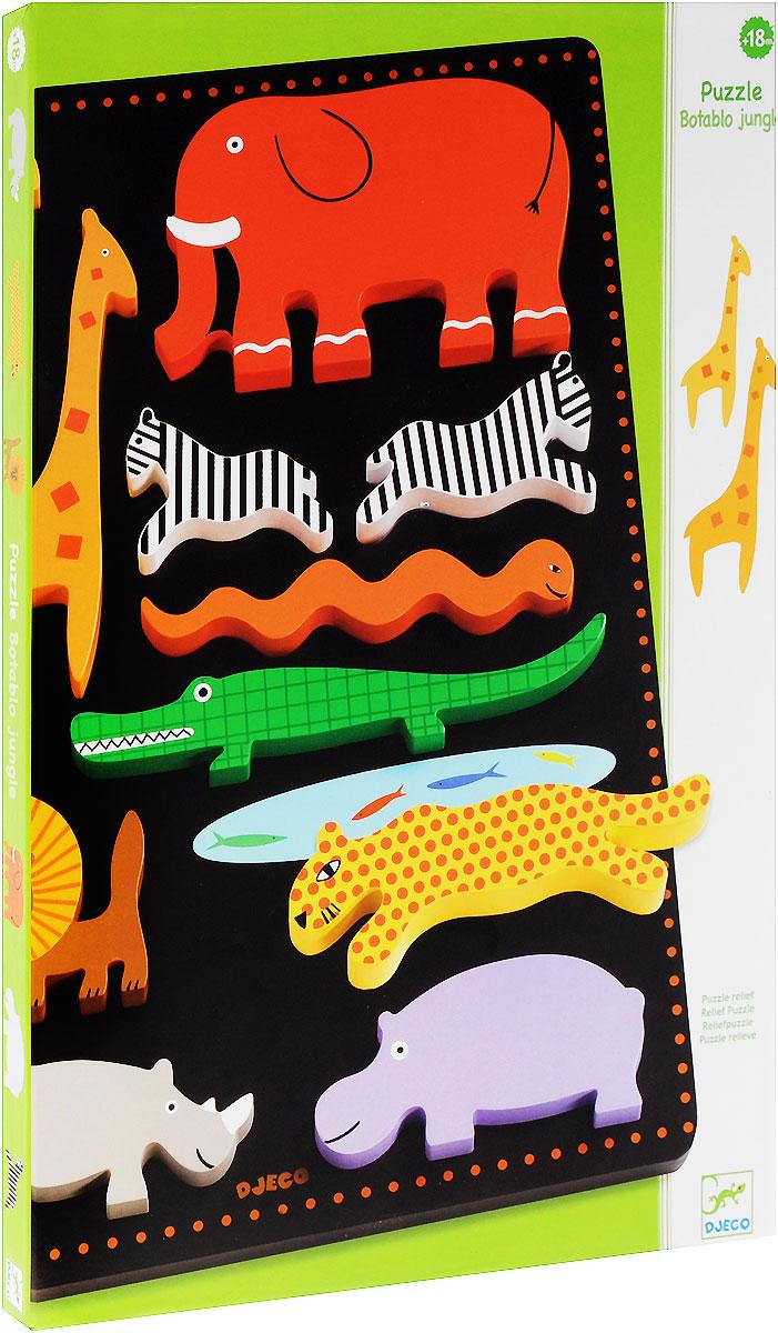 Djeco Развивающая игрушка Рамка-вкладыш Ботабло конструкторы djeco развивающая игра прикрути колесо