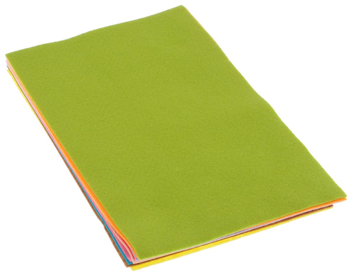 Фетр листовой для творчества Glorex