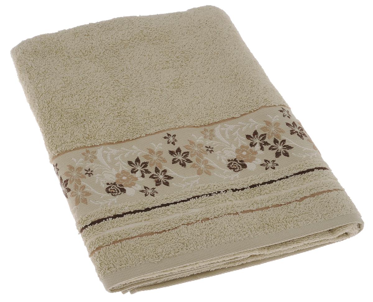 Полотенце махровое Mile, цвет: фисташковый, 70 х 140 см2857014-M22Махровое полотенце Primavelle Mile - невероятно стильный и современный аксессуар для вашей ванной. Полотенце, изготовленное из натурального хлопка соригинальной цветочной вышивкой, подарит массу положительных эмоций и приятных ощущений. Изделие отличается нежностью и мягкостью материала, утонченным дизайном и превосходным качеством. Оно прекрасно впитывает влагу, быстро сохнет и не теряет своих свойств после многократных стирок. Махровое полотенце Primavelle Mile станет достойным выбором для вас и приятным подарком для ваших близких.
