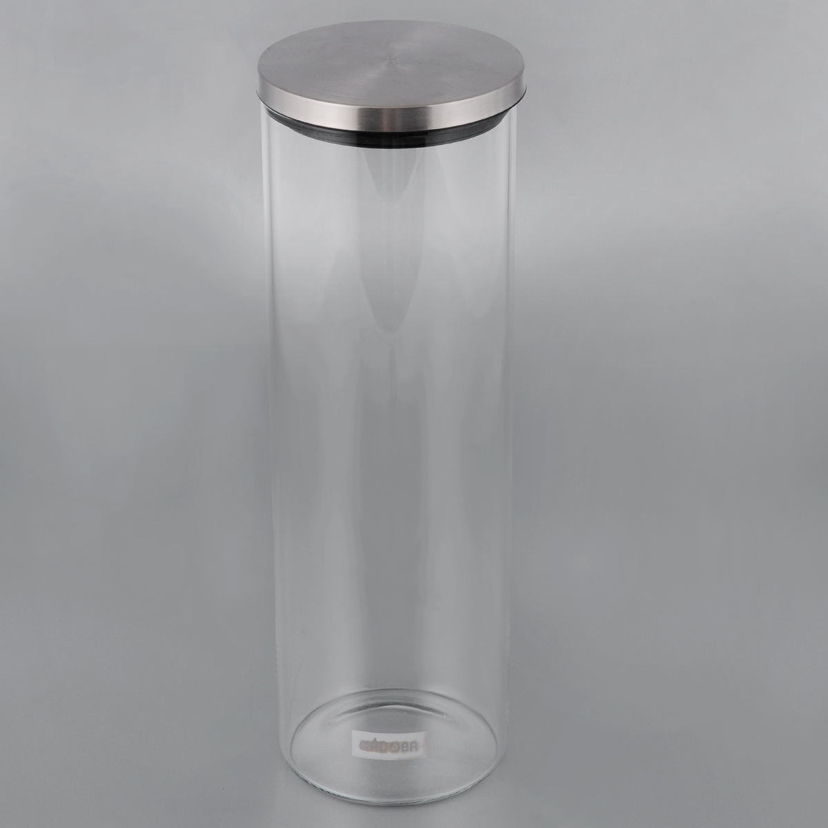 Емкость для сыпучих продуктов Nadoba Silvana, 1,65 л741410Емкость Nadoba Silvana, изготовленная из высокопрочного стекла, оснащена стальной герметичной крышкой. Благодаря эргономичному дизайну изделие удобно брать одной рукой.Стенки емкости прозрачные - хорошо видно, что внутри. Изделие идеально подходит дляхранения различныхсыпучих продуктов: круп, макарон, специй, кофе, сахара, орехов, кондитерских изделий и многогодругого. Диаметр емкости (по верхнему краю): 9,5 см. Высота (без учета крышки): 28,5 см.
