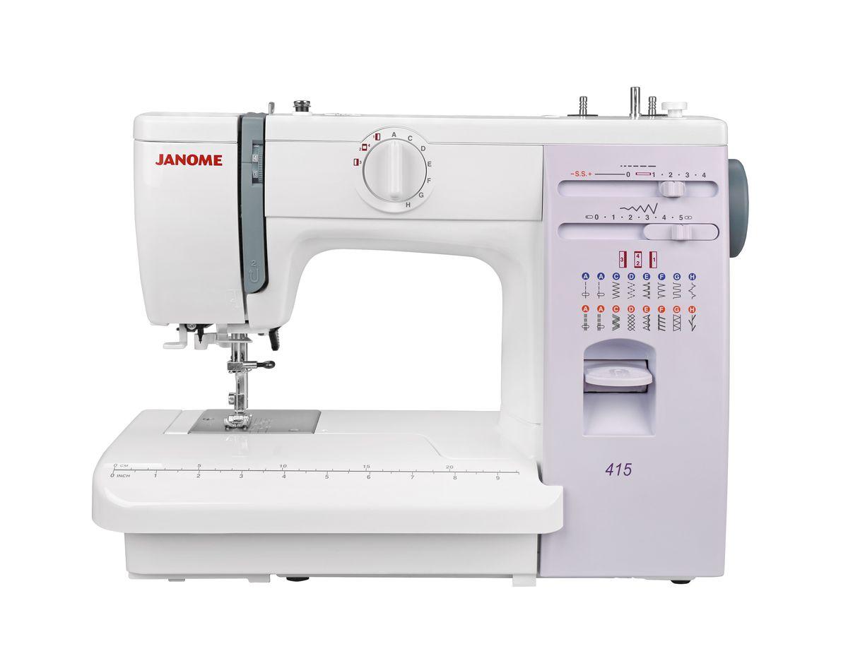 Janome 415 швейная машинка