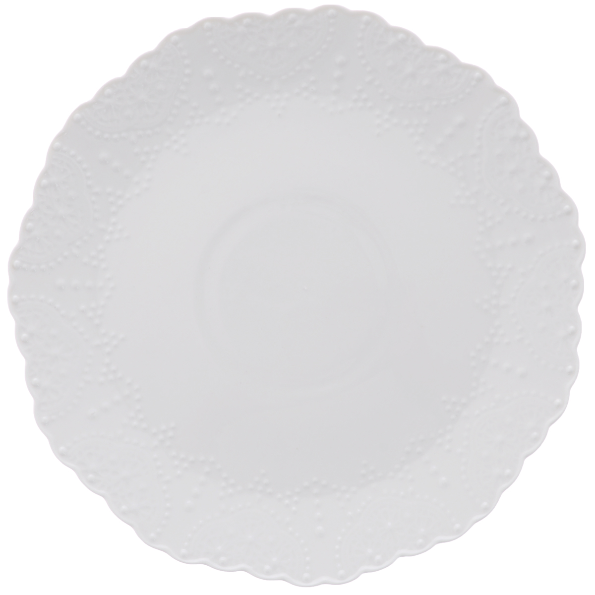Тарелка обеденная Walmer Vivien, цвет: белый, диаметр 26 см горшок для запекания walmer classic цвет белый диаметр 12 см