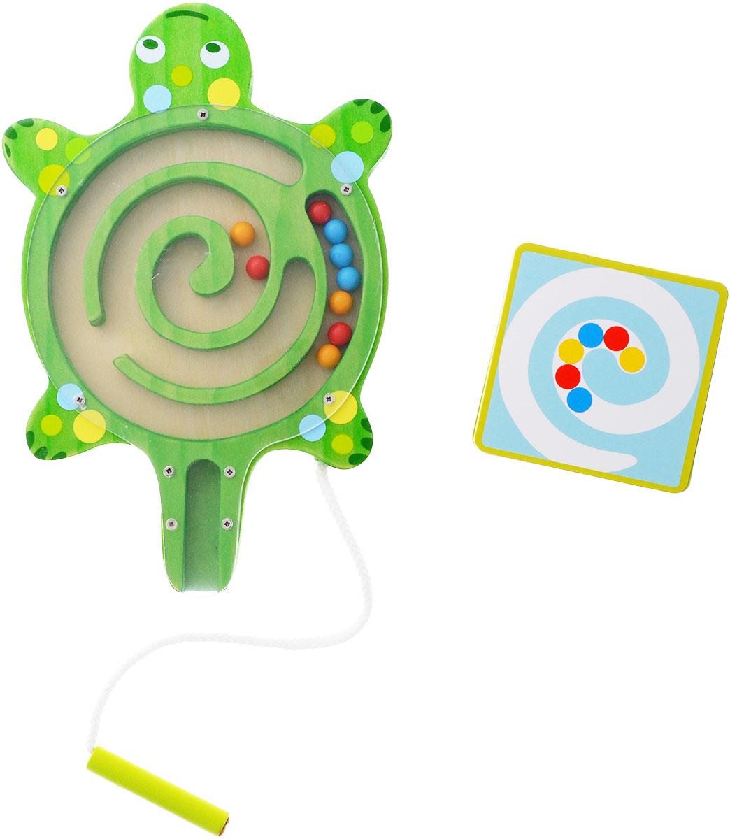 Djeco Развивающая игрушка Лабиринт Черепаха развивающая игрушка djeco зверюшки попрыгунчики пастель 06105