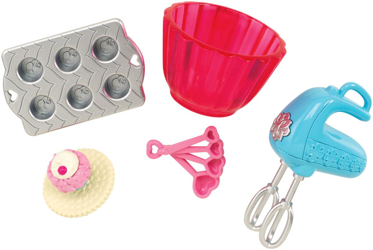 Barbie Мини-набор для декора Кондитер barbie набор для декора дома холодильник с продуктами cfg65 cfg70