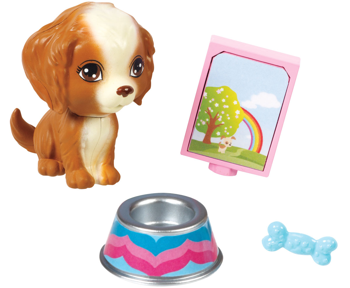 Barbie Мини-набор для декора Щенок barbie набор для декора дома холодильник с продуктами cfg65 cfg70