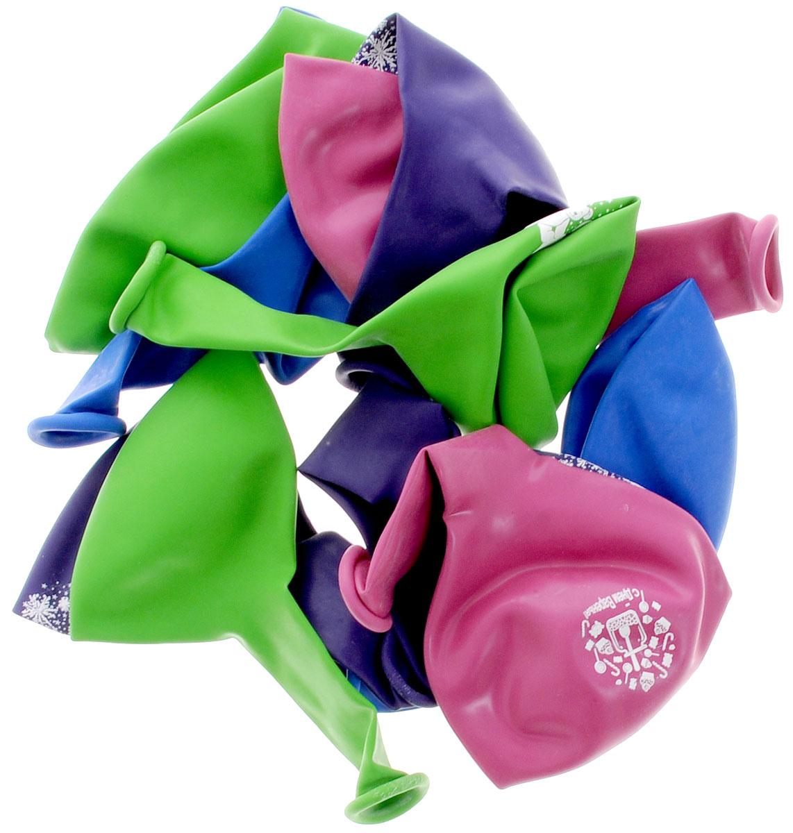 Action! Шары воздушные С Днем Рождения! 25 см 10 шт -  Воздушные шарики
