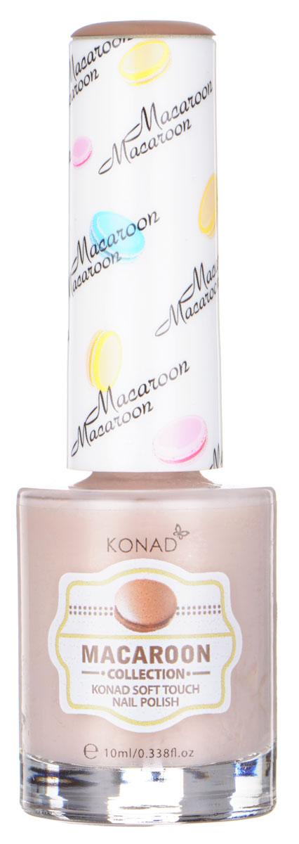 KONAD Macaroon матовые пастельные Soft Touch Nail 05 - Milk Tea Macaroon 10 млNP-STP05Матовый пастельный лак, нежнее нежного, как воздушное безе Макарун