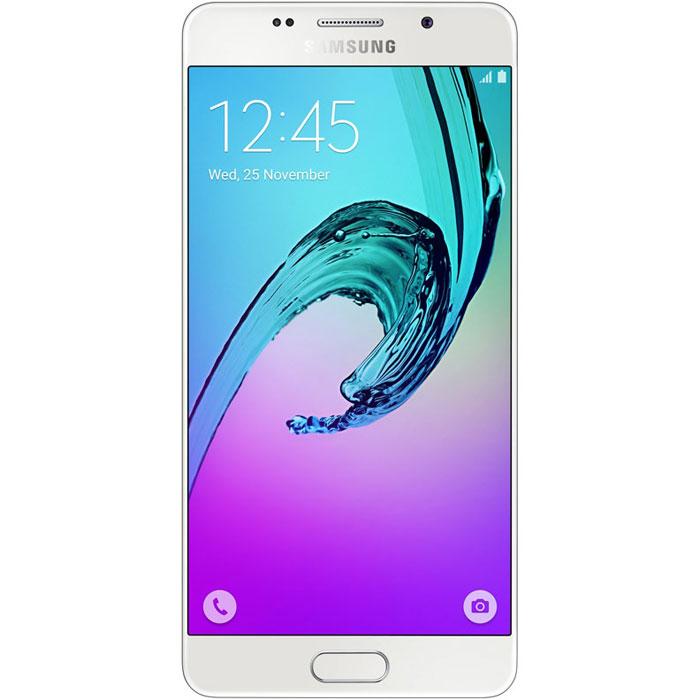 Samsung SM-A510F Galaxy A5, WhiteSM-A510FZWDSERSamsung SM-A510F Galaxy A5 - стильный и мощный смартфон из стекла и металла, который сделает вашу жизнь комфортнее благодаря эргономичному дизайну, мощному аккумулятору, поддержке быстрой зарядки, усовершенствованной камере, улучшенному процессору и поддержке LTE.Премиальный дизайн, надежность и великолепие стекла Gorilla Glass. Оцените комфортный просмотр изображений на 5,2-дюймовом Full HD экране с более тонкой рамкой.Восьмиядерный процессор Samsung Exynos 7 Octa 7580 с частотой 1,6 ГГц обеспечивает быстрый доступ к любимым приложениям и великолепную поддержку в режиме многозадачности.Фронтальная и основная камеры с диафрагмой F1.9 - это всегда яркие и четкие снимки даже в условиях низкой освещенности. Благодаря быстрому запуску камеры двойным нажатием кнопки Домой вы не упустите самые важные моменты вашей жизни. Для создания отличных селфи предусмотрено сразу несколько удобных функций - например, Palm Selfie, с помощью которой можно управлять камерой жестом, функция Wide Selfie, позволяющая создавать панорамные селфи, а также набор эффектов для улучшения изображения.Аккумулятор с увеличенной ёмкостью продлевает работу смартфона. Смотрите видео с высоким HD разрешением, играйте в игры, слушайте музыку и работайте с любыми приложениями дольше, чем обычно. Режим быстрой зарядки позволяет зарядить смартфон за 105 минут.Технология распознавания отпечатка пальца обеспечивает надежную защиту данных в смартфоне, а также большее удобство в использовании смартфона.Телефон сертифицирован Ростест и имеет русифицированный интерфейс меню, а также Руководство пользователя.
