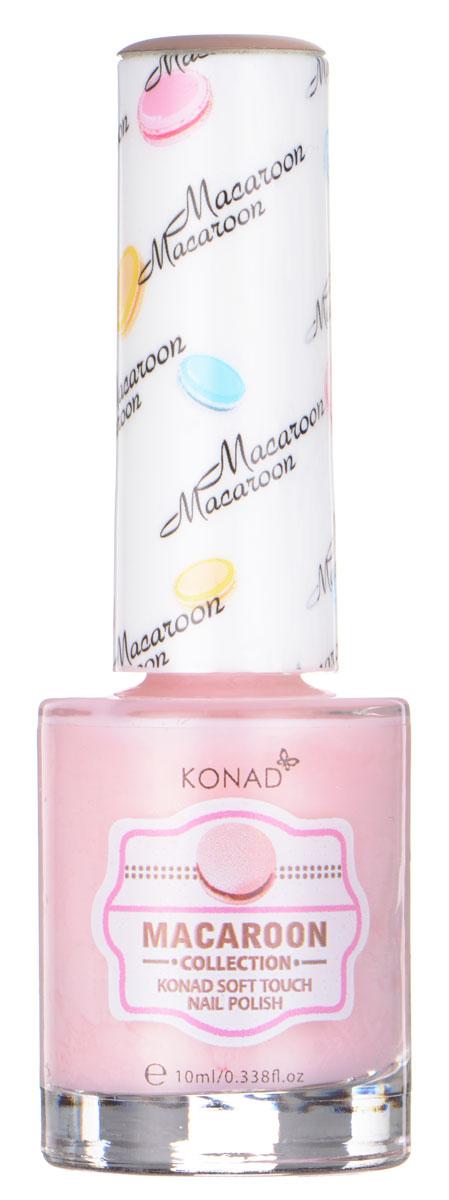 KONAD Macaroon матовые пастельные Soft Touch Nail 02 - Rose Pink Macaroon 10 млNP-STP02Матовый пастельный лак, нежнее нежного, как воздушное безе Макарун
