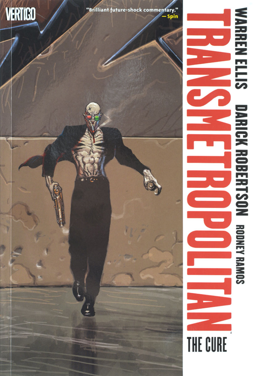 Transmetropolitan: Vol. 9:  The Cure crusade vol 3 the master of machines