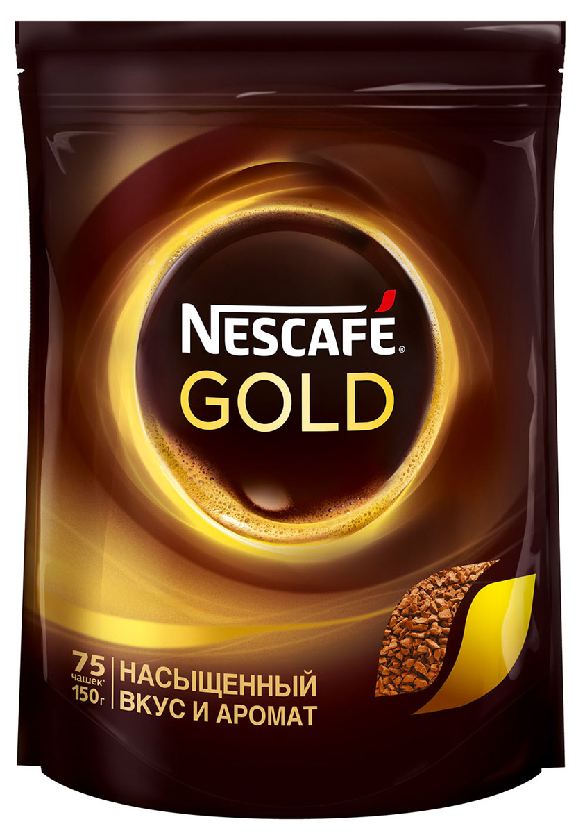 Nescafe Gold 100% кофе растворимый сублимированный, 150 г12137730Почувствуйте истинное удовольствие с кофе Nescafe Gold. Ведь Nescafe Gold создан из обжаренных кофейных зерен нескольких сортов, чтобы вы могли в полной мере ощутить его неповторимый аромат и насыщенный вкус. Nescafe Gold - кофе, который дарит удовольствие.Кофе: мифы и факты. Статья OZON Гид