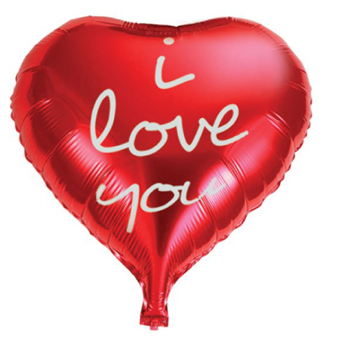 Action! Шар фольгированный I Love You -  Воздушные шарики