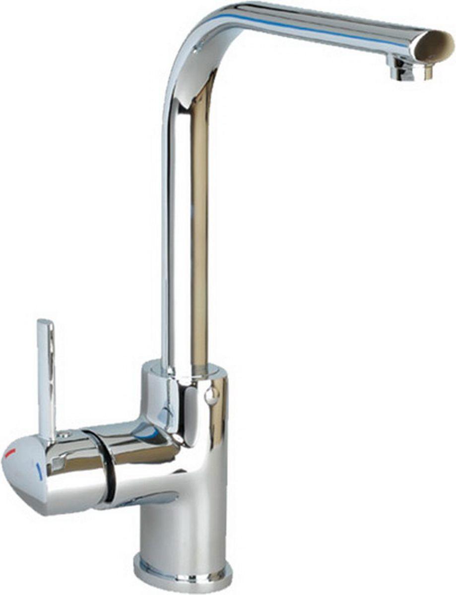Смеситель для кухни Argo Sigma, высота 32,5 см19847Смеситель для кухни Argo Sigma предназначен для смешивания холодной и горячей воды, устанавливается на мойку. Выполнен из высококачественного металла с покрытием из никеля и хрома.В комплекте гибкая подводка Argo (длина 50 см).Запорный механизм: картридж d-35 мм Long-size Аэратор: ячейковый М20х1 NEOPERL 6 – 9 л/мин при 0,3 МПа Крепеж: одношточный Single-rod