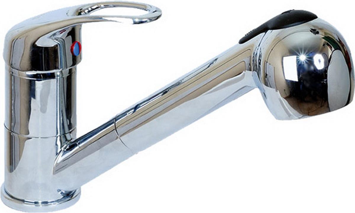 Смеситель для кухни Argo Jamaica, с вытяжной лейкой , высота излива 11 см22797Смеситель для кухни Argo Jamaica предназначен для смешивания холодной и горячей воды, устанавливается на мойку. Выполнен из высококачественной латуни с покрытием из хрома. Корпус изготовлен путем токарно-фрезерной обработки цельнолитой заготовки. Применение данной технологии исключает вероятность существования микропор и межкамерных утечек.Запорный механизм: картридж d-40 мм Short-size.Аэратор: ячейковый М24х1 OnlyPlast 10-13 л/мин при 0,3 МПа.Крепеж: двухшточный Double-rod.