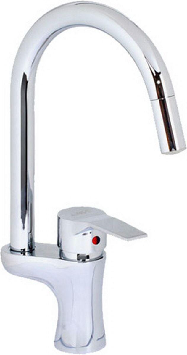 Смеситель для кухни Argo Form, светодиодный, высота 37,5 см23182Светодиодный смеситель для кухни Argo Form предназначен для смешивания холодной и горячей воды, устанавливается на мойку. Выполнен из высококачественного металла с покрытием из никеля и хрома.Запорный механизм: картридж d-40 мм Short-sizeАэратор: cветодиодный Three-color, ячейковый М22х1 OnlyPlast 10-13 л/мин при 0,3 МПа Крепеж: двухшточный Double-rodКомплектация: Гибкая подводка Argo (длина 50 см)