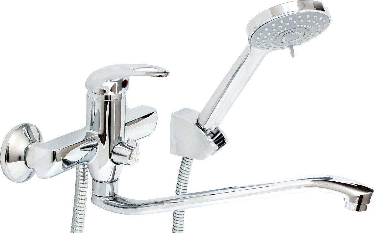 Смеситель для ванны и умывальника Argo Open, керамбукса, 295 мм гарнитуры душевые argo набор для биде лейка шланг кронштейн argo dina блистер