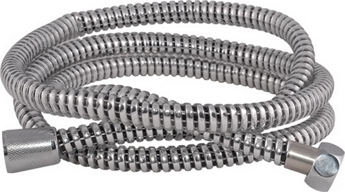 Шланг для душа Argo Eur, цвет: стальной, 1/2, 150 см шланги для душа argo шланг для душа argo 1 2 eur bronze 150 см блистер