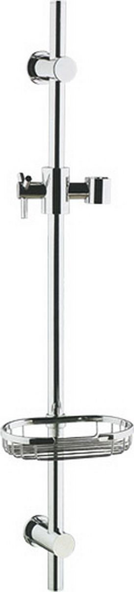 """Стойка для душа """"Argo"""" - душевой комплект, который включает в себя стойку из латуни для душа и мыльницу. Все  элементы изготовлены из высококачественного материала, обеспечивающего высокую степень защиты от коррозии и  гарантирует продолжительный срок службы устройства. Универсальный держатель душа имеет фиксатор высоты и возможность регулировки  наклона."""