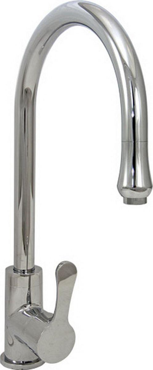 Смеситель для кухни Argo Teta, высота 37,22 см34146Смеситель для кухни Argo Teta предназначен для смешивания холодной и горячей воды, устанавливается на мойку. Выполнен из высококачественного металла с покрытием из никеля и хрома.В комплекте гибкая подводка Argo (длина 50 см).Запорный механизм: картридж d-35 мм Short-size FLUEHS (Германия) Аэратор: М-20х1 Neoperl CASCADE SLC Антикалькар 7,5 - 9 л/мин при 0,3 МПа Крепеж: одношточный Single-rod
