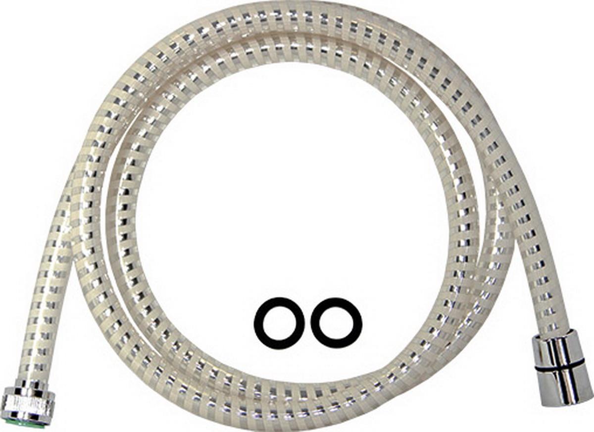 Шланг для душа Argo, 1/2, PVC Еspiroflex WHITE, 150 см шланги для душа argo шланг для душа argo 1 2 eur bronze 150 см блистер