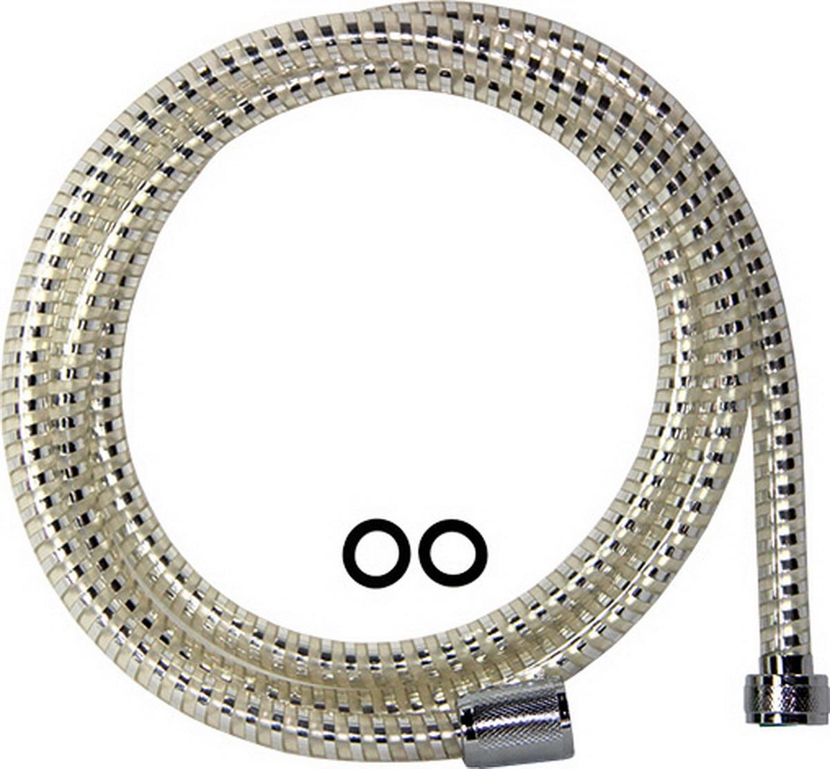 Шланг для душа Argo PVC Еspiroflex TRANSPARENTE, 1/2, 175 см34552Универсальный гибкий шланг для душа Argo PVC Еspiroflex TRANSPARENTE сочетает в себе отличные эксплуатационные характеристикии приятный дизайн. Шланг изготовлен из высококачественного поливинила.Прочный и надежный шланг эргономичен и прост в монтаже, удобен виспользовании. Длина: 175 см. Выходы шлага: 1/2. Тип соединения оплетки: цепь.