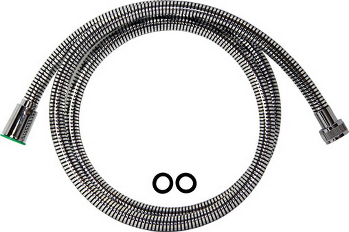 Argo шланг для душа, с конусом свободного вращения, 1/2, PVC Isoflex Black, 150 см шланги для душа argo шланг для душа argo 1 2 eur bronze 150 см блистер