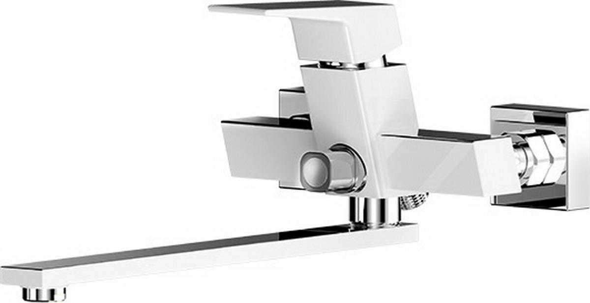 Смеситель для ванны и умывальника Argo Grano, керамбукса, цвет: хром, белый, L образный излив 290 мм35779Смеситель для ванны и умывальника Argo Grano предназначен для смешивания холодной и горячей воды, устанавливается на стену. Выполнен из высококачественной латуни с покрытием из хрома.Запорный механизм: картридж d-35 мм Short-size SEDAL.Тип дайвотера: керамбукса.Аэратор: М24х1 наружная резьба NEOPERL CASCADE SLC Антикалькар 22,8-25,2 л/мин при 0,3 Мпа.Крепеж: эксцентрик усиленный 3/4 х 1/2 с редуктором шума + прокладка-фильтр.Длина излива: 29 см.