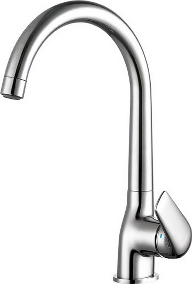 """Смеситель для кухни Argo """"Eva"""" предназначен для смешивания холодной и горячей воды, устанавливается на мойку. Выполнен из высококачественного металла с покрытием из никеля и хрома.В комплекте гибкая подводка """"Mateu"""" (длина 50 см).  Запорный механизм: картридж d-35 мм """"LongTop-size"""" CITEC (Испания) Аэратор: М22х1 внутренняя резьба NEOPERL CASCADE SLC """"Антикалькар"""" 7,5 - 9 л/мин при 0,3 МпаКрепеж: одношточный """"Single-rod"""""""