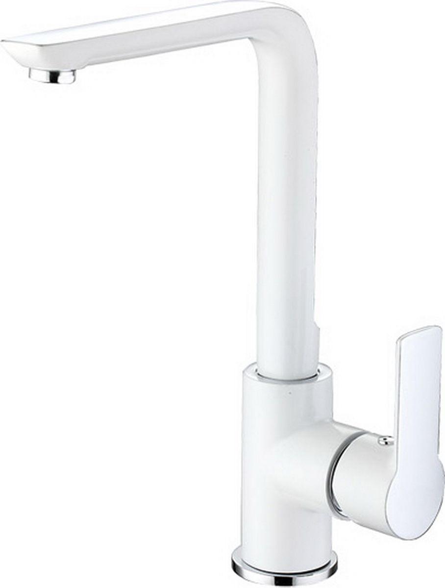 """Смеситель для кухни Argo """"Olimp"""" предназначен для смешивания холодной и горячей воды, устанавливается на мойку. Выполнен из высококачественного металла с покрытием из никеля и хрома. В комплекте гибкая подводка """"Mateu"""" (длина 50 см).    Запорный механизм: картридж d-35 мм """"Long-size"""" SEDAL (Испания) Аэратор: М20х1 наружная резьба NEOPERL CASCADE SLC """"Антикалькар"""" 7,5-9 л/мин при 0,3 Мпа  Крепеж: одношточный """"Single-rod""""."""