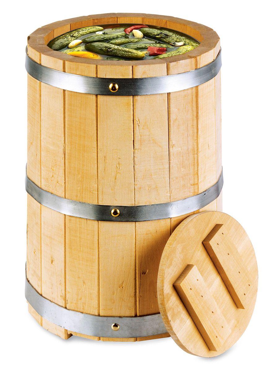 Кадка для бани Proffi Home, с гнетом, 5 лPH0209Кадка с гнетом выполнена из березы. Она прекрасно подойдет для замачивания веника или других банных процедур, а также для хранения солений. Кадка является одной из тех приятных мелочей, без которых не обойтись при принятии банных процедур.
