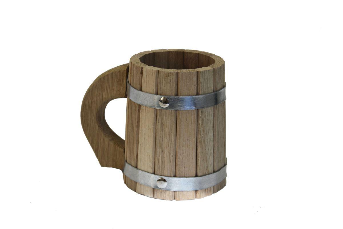 Кружка для бани и сауны Proffi Home, 0,5 лPS0047Кружка Proffi Home выполнена из дуба. Она просто незаменима для подачи напитков, приготовления отваров из трав и ароматических масел, также подходит для декора или в качестве сувенира.