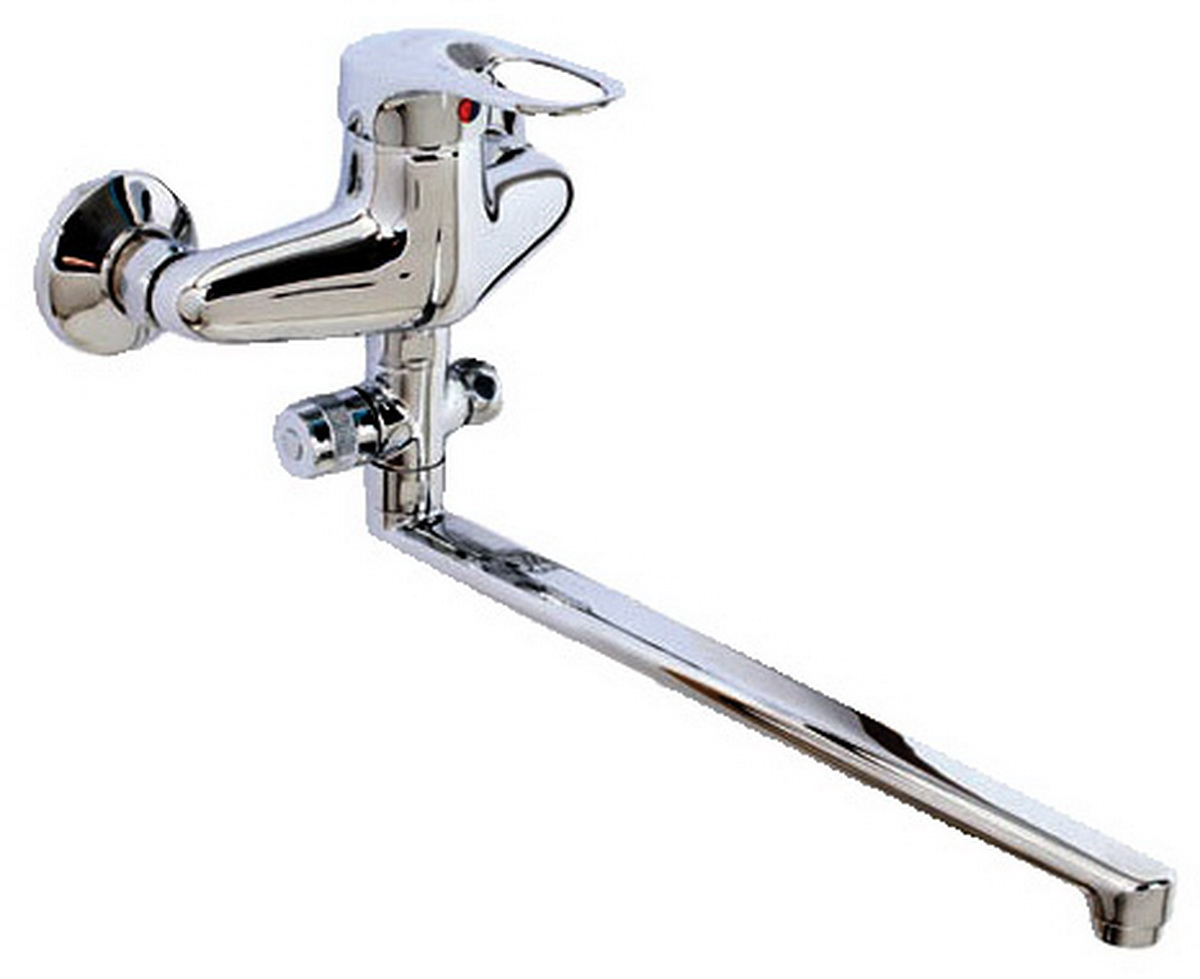 Смеситель для ванны и умывальника Argo Boss, длина 32,5 см. 97249724Смеситель для ванны и умывальника Argo Boss предназначен для смешивания холодной и горячей воды, устанавливается на стену. Выполнен из высококачественного металла с покрытием из никеля и хрома.Тип дайвотера: картриджАэратор: ячейковый М24х1 OnlyPlast 10-13 л/мин при 0,3 МПа Крепеж: эксцентрик усиленный 3/4 x 1/2 + прокладка-фильтрКомплектация:Душевой шланг 150 см, хромированная нержавеющая сталь, двойной замок, 1/2 Душевая лейка Lux трехпозиционная: душ, массаж, душ/массаж Кронштейн