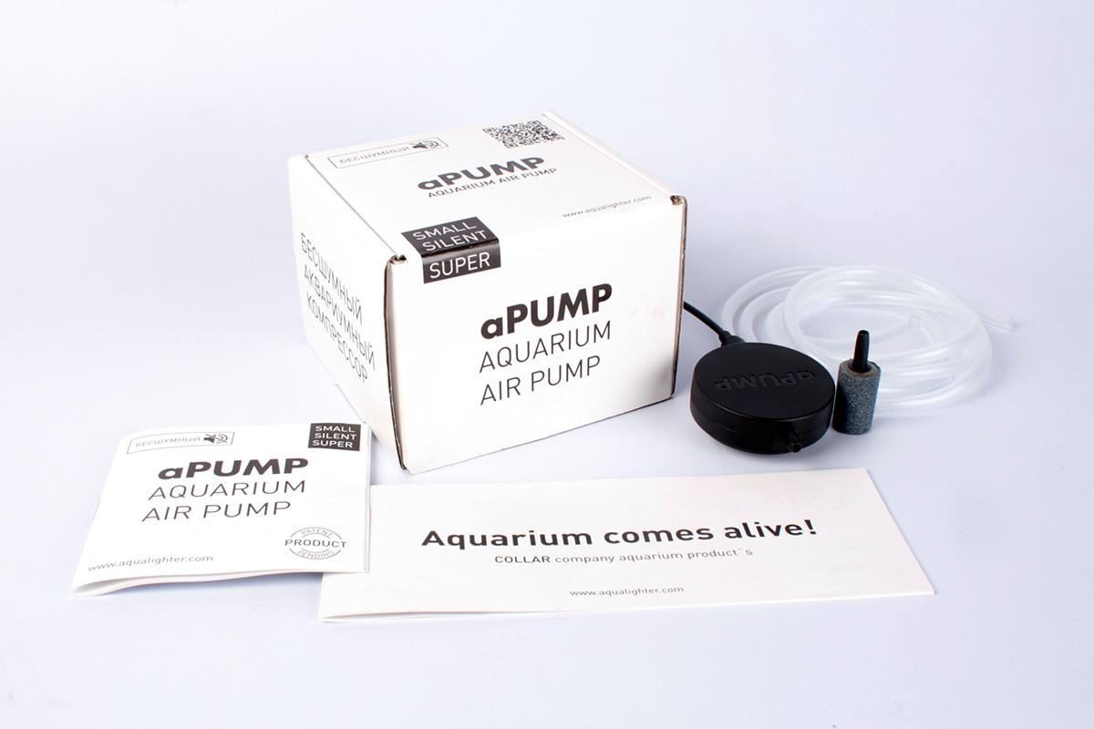 Компрессор аPUMP, для аквариумов до 100 л7914Аквариумный компрессор аPUMP для аквариумов объемом от 10 до 100 л, предназначен для снабжения аквариумной воды самым необходимым и жизненно важным элементом – кислородом. Аквариумный компрессор aPUMP является на данный момент самым маленьким и бесшумным компрессором в мире.Давление воздушного потока, создаваемое компрессором, позволяет использовать его для аквариумов с высотой водного столба до 80 см.Применение запатентованной технологии позволило добиться небывало низкого уровня шума – менее 35 дБ.Комплектуется силиконовым шлангом и распылителем воздуха. Размер: 90.7 x 52.5 x 29.1 мм.