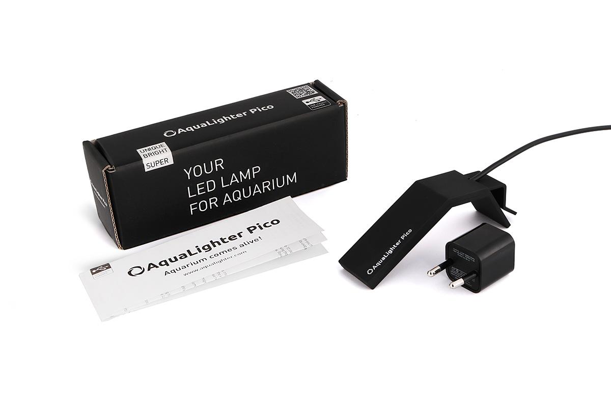 Светильник LED AquaLighter Pico, цвет: черный, 10 л, 6000 К dali zensor pico