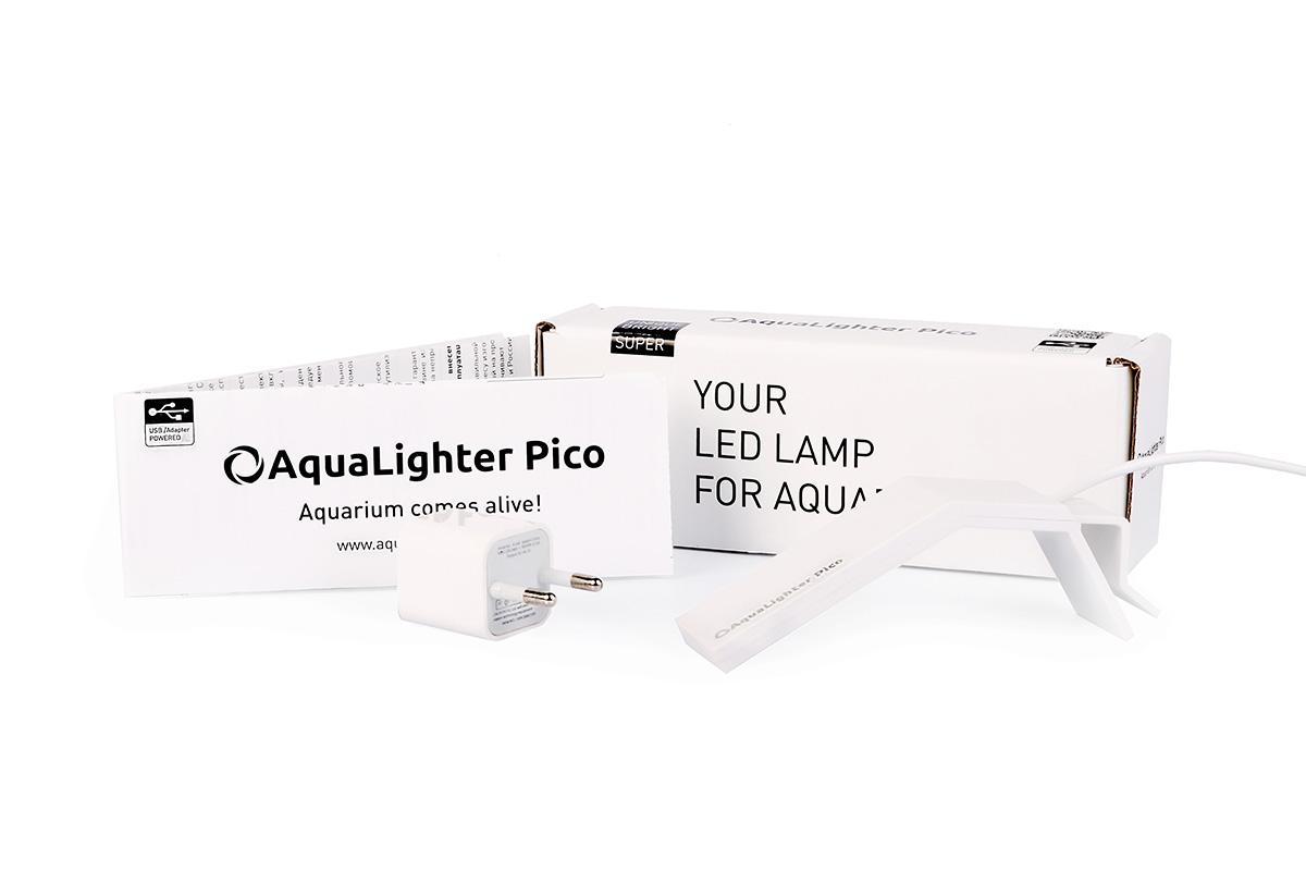 Светильник LED AquaLighter Pico, цвет: белый, 10 л, 6500 К dali zensor pico