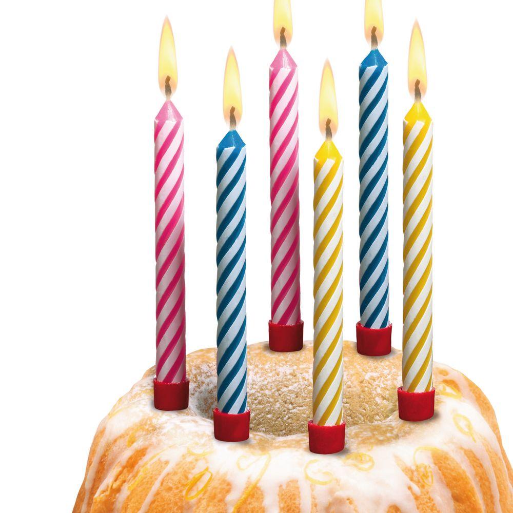 Susy Card Свечи для торта детские большие 12 шт herlitz магнит для досок smileyworld 6 шт