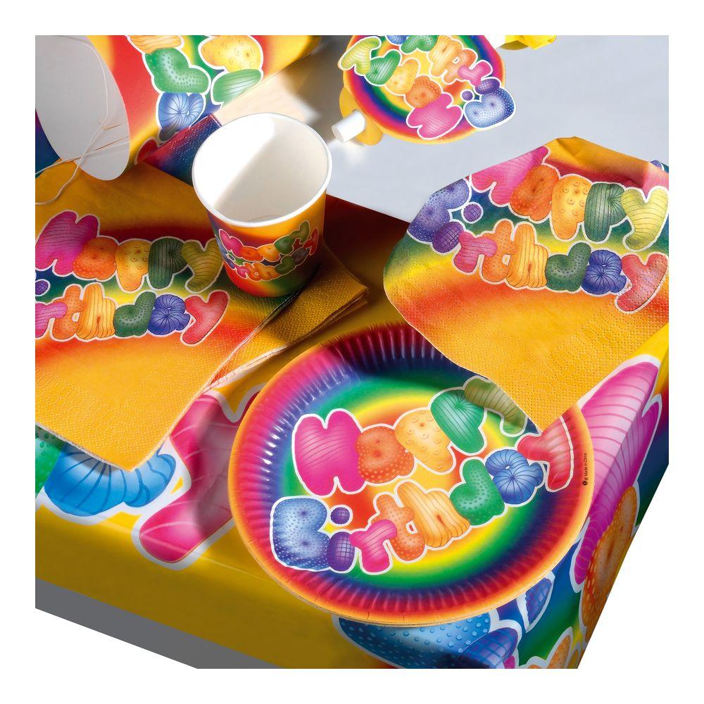 Susy Card Сервировка праздничного стола детям Набор для пикника Happy Birthday 11144854 mango susy