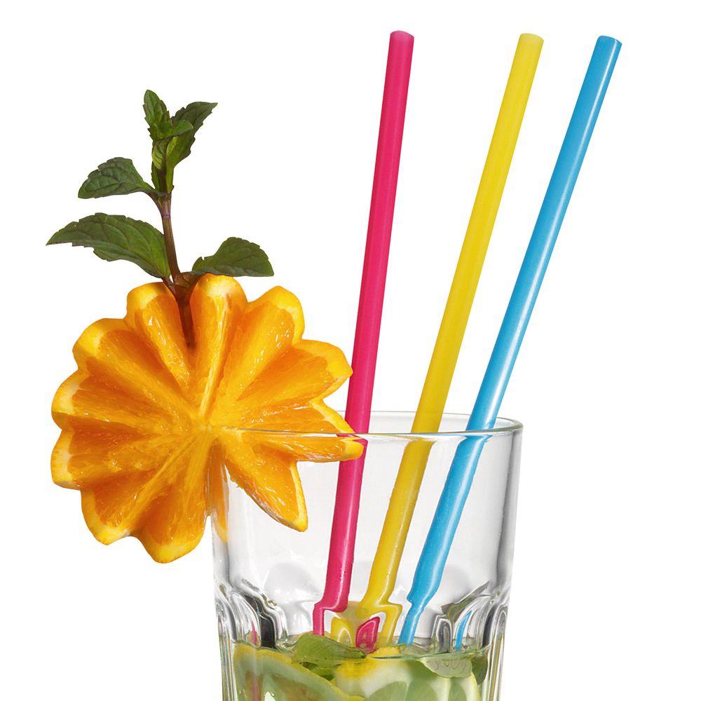"""Коктейльные трубочки давно стали неотъемлемым аксессуаром любого торжества. Широкие трубочки """"Susy Card"""" позволят украсить напитки и коктейли на вашем праздничном столе!В комплекте 25 коктейльных трубочек."""