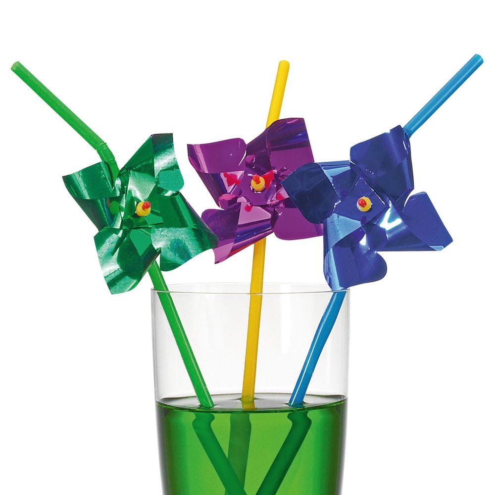 Susy Card Трубочка для коктейля Ветерок 6 шт
