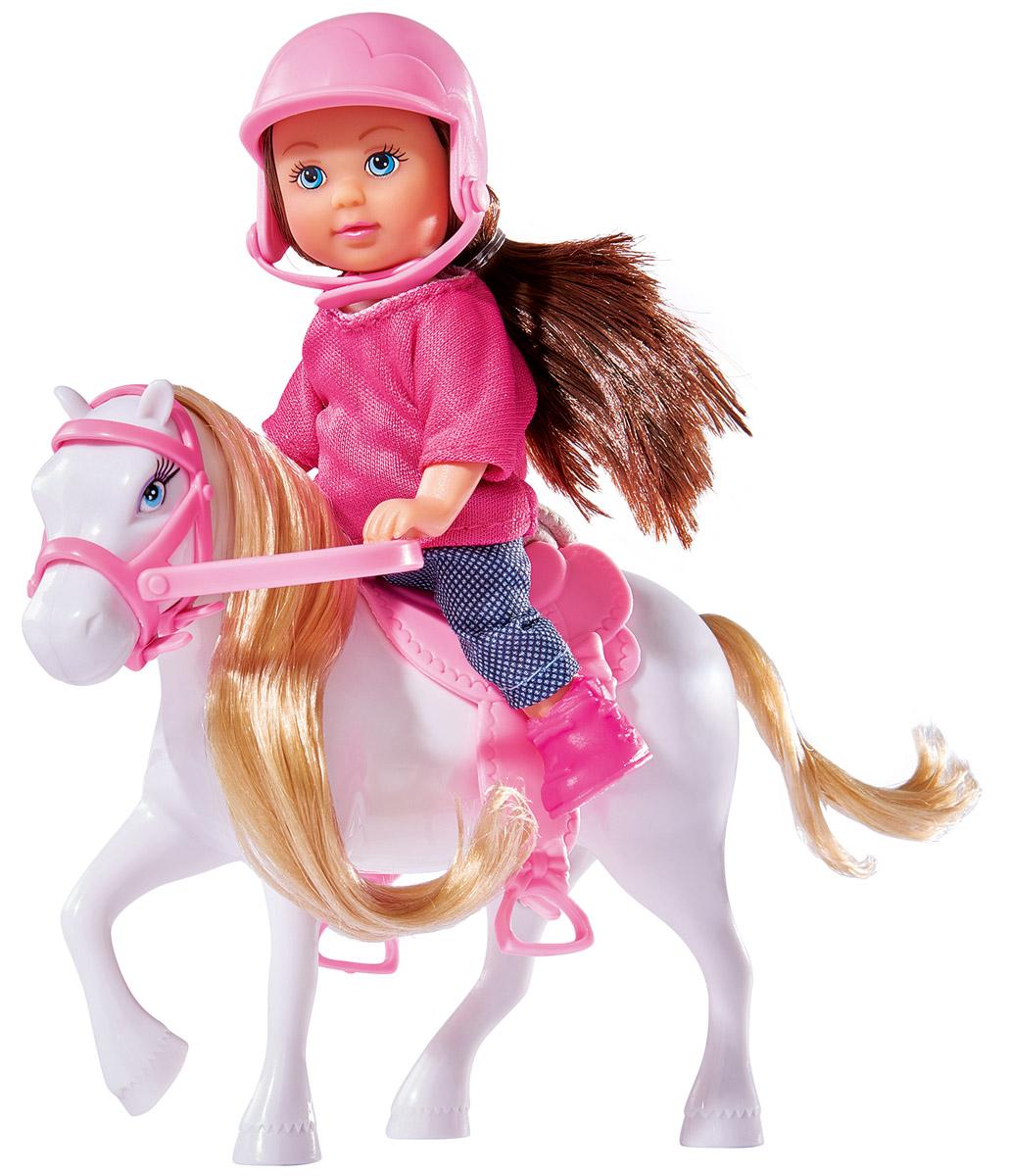 Simba Кукла Еви с пони цвет белый simba кукла evi