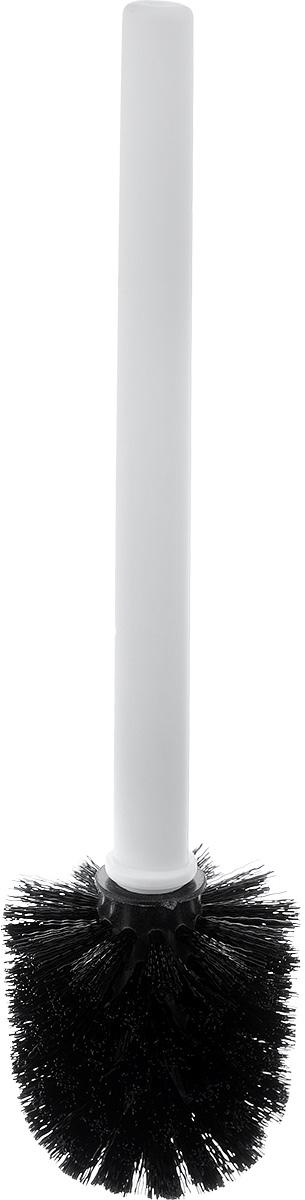 """Ершик для унитаза Vanstore """"Plastic White""""  выполнен из пластика и оснащен жестким  ворсом. Подставка с устойчивым основанием не  позволяет ершику опрокинуться. Ершик отлично  чистит поверхность, а грязь с него легко смывается  водой. Стильный дизайн изделия притягивает взгляд и  прекрасно подойдет к интерьеру туалетной  комнаты. Высота ершика: 32,5 см. Размер подставки для ершика: 9 х 9 х 12,5 см.  Размер рабочей части ершика: 8 х 8 х 8 см."""