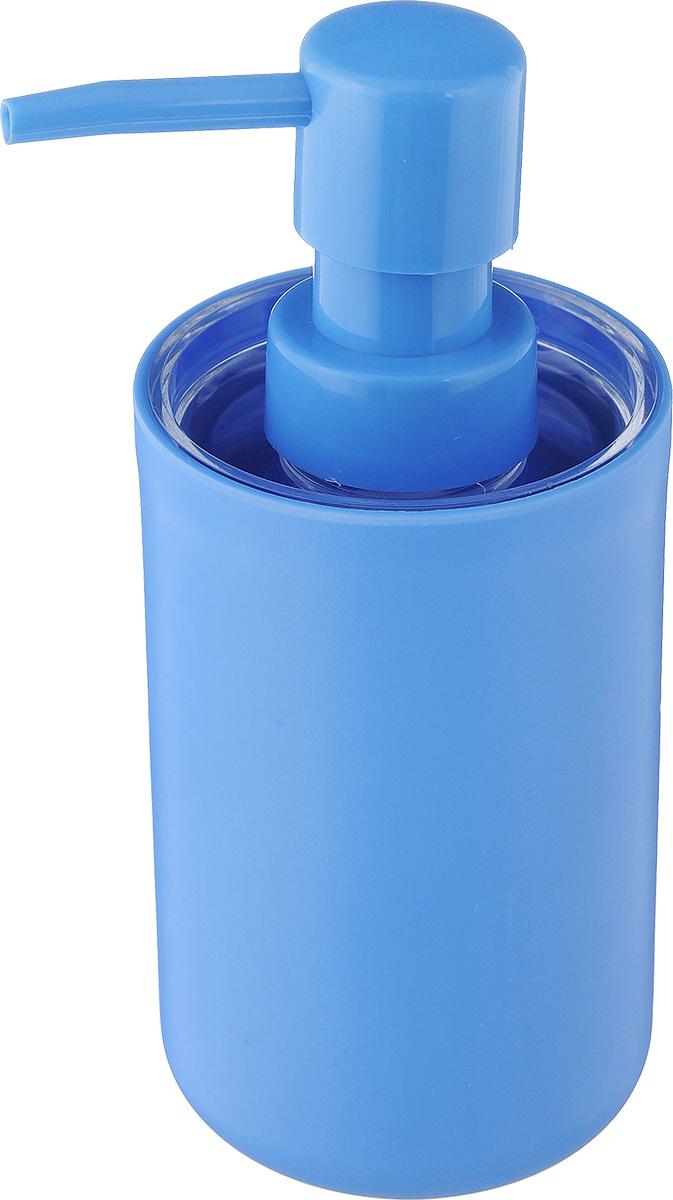 Дозатор для жидкого мыла Vanstore Plastic Blue, цвет: голубой, 300 мл311-03Дозатор для жидкого мыла Vanstore Plastic Blue, изготовленный из пластика, отлично подойдет для вашей ванной комнаты. Такой аксессуар очень удобен в использовании, достаточно лишь перелить жидкое мыло в дозатор, а когда необходимо использование мыла, легким нажатием выдавить нужное количество. Дозатор для жидкого мыла Vanstore Plastic Blue создаст особую атмосферу уюта и максимального комфорта в ванной.Размер дозатора: 6,5 х 6,5 х 16 см.Объем дозатора: 300 мл.