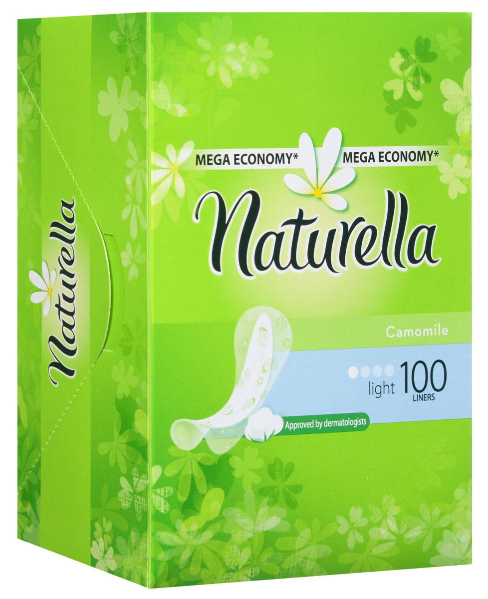 Ежедневные прокладки Naturella Light, 100 шт