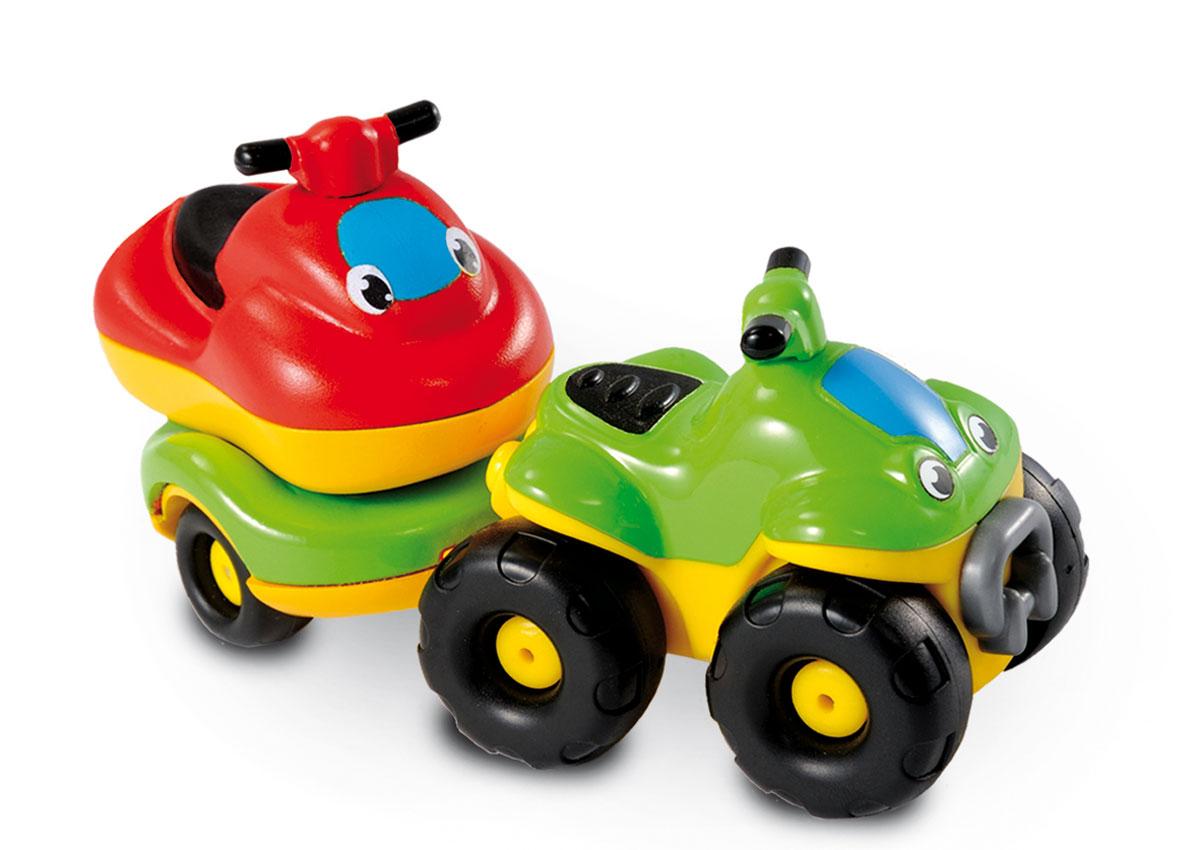 Smoby Квадроцикл с прицепом и гидроциклом